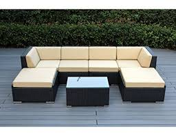 Patio Table Sets Ohana 7 Outdoor Patio Furniture Sectional