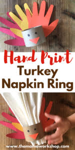 turkey napkin ring turkey napkin rings craft archives the workshop