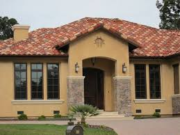 exterior spanish style house colors house style design great