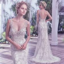wedding dress brand maggie sottero greer designer wedding dress brand new size 10 uk