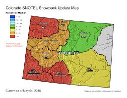 colorado snowpack map blue river basin summit county citizens voice
