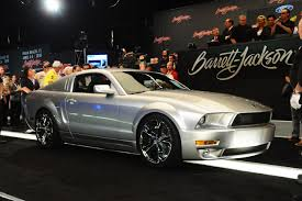 iacocca mustang price iacocca mustang sells for 320 000 at barrett jackson