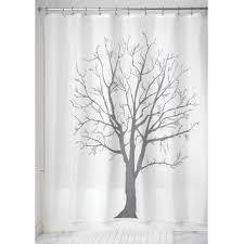Shower Curtain With Tree Design Mainstays Pink Blossom Fabric Shower Curtain Walmart Com