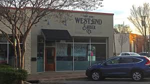 west end barber co greenville on the rise