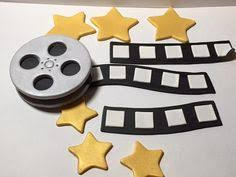 how to make a deluxe movie film reel cake cake decorating