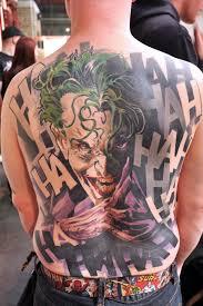joker tattoo video geek ink the joker nerdgasm needs