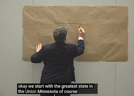 A Map The United States by Al Franken Drawing A Map Of The United States Minnesota