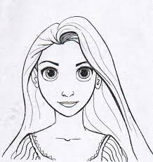 rapunzel printable template pictures pin clanek