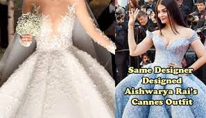 swarovski heiress got married in a 46 kg wedding gown studded with