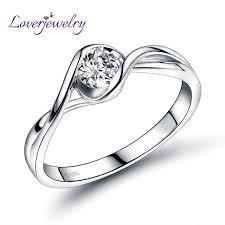diamond jewelry rings images Buy dia real 18k white gold wedding diamond ring jpg
