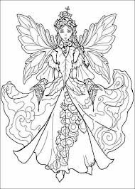 fairy coloring pages adults printable coloring