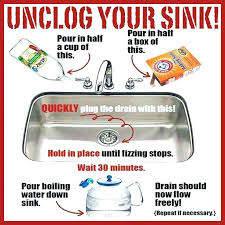 how to unclog a sink with baking soda and vinegar how to unclog a sink with baking soda and vinegar how unclog sink no