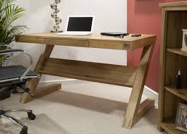 Z Shaped Desk Z Solid Oak Designer Furniture Laptop Office Pc Computer Desk Ebay