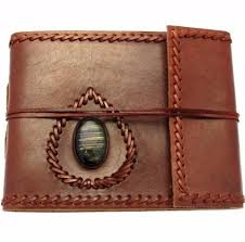 small leather photo album small leather album with gemstone dragonspace gift shop