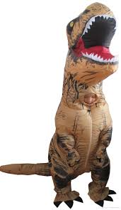 fancy dress mascot giant inflatable t rex dinosaur suit for
