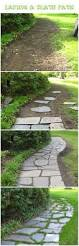 natural stone pavers front walkway design ideas how to lay