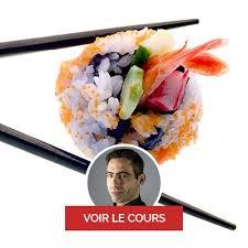 cours de cuisine sushi cours de cuisine japonaise à sushi maki gyozas dorayaki