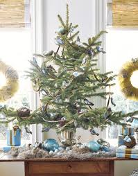 Mini Christmas Tree Table Decorations by Holidays 2009 Archives Elements Of Style Blog