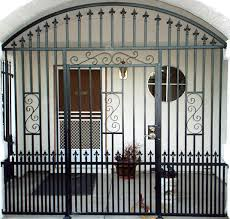 Modern Safety Door Design For Home Front Grill Designs Dashing