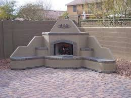 Outdoor Fireplaces And Firepits Outdoor Corner Fireplace Garden Design