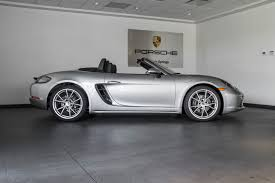 silver porsche boxster 2017 2017 porsche boxster 718 for sale in colorado springs co 17165
