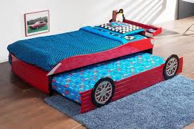 Kids Car Bed Sleep Car Bed For Kids White Kids Race Car Bed - Race car bunk bed