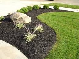 Black Garden Rocks Use Black River Rock Landscaping As Decorative Accent For Your