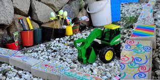 a rock play garden be a fun mum