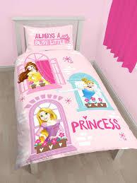 Princess Duvet Cover Disney Princess Boulevard Single Duvet Cover Set Polycotton