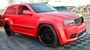 stanced jeep srt8 tricked out showkase a custom car sport truck suv exotic