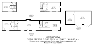 The Burrow Floor Plan Heath House Lane Codsall Wolverhampton Wv8 3 Bedroom Barn