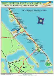 Jensen Beach Florida Map by Beach Front Mann Realty U0026 Management Maps Of Hutchinson Island