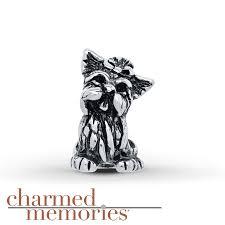 kay jewelers charmed memories kay charmed memories yorkie charm sterling silver
