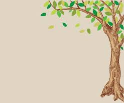 large green and brown corner oak tree wall decal baby