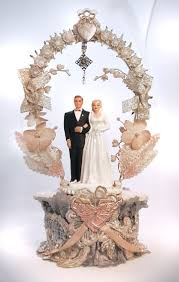 vintage cake topper wedding cake topper 1952 i may start collecting these vintage