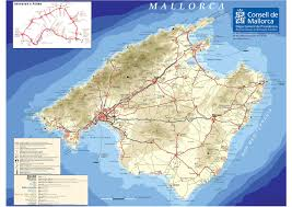 Detailed Map Of Spain by Large Mallorca Maps For Free Download And Print High Resolution