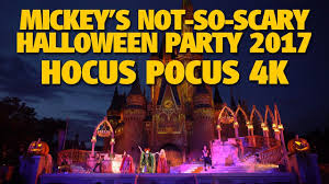 when is mickey halloween party hocus pocus villain spelltacular 2017 mickey u0027s not so scary