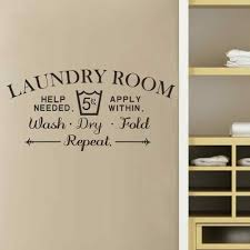 Laundry Room Signs Wall Decor by Online Store Battoo Laundry Room Wall Decal Quote Laundry Room