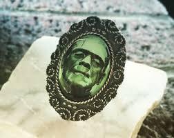 Ring Halloween Costume Frankenstein Ring Etsy