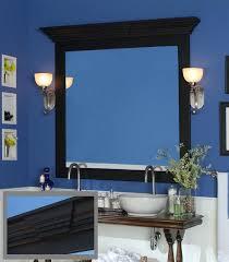 bathroom mirror frame cornice cap keystone roanoke