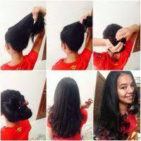 Catokan Rambut Sosis 15 cara rambut sendiri secara permanen dirumah gayarambut co id