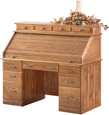 Oak Roll Top Secretary Desk by Postmasters Handmade Roll Top Desk Countryside Amish Furniture
