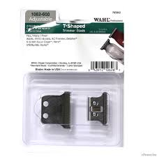 T Shaped by Wahl 2 Hole T Shaped Replacement Blade For Detailer Razor Ac Hero