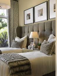 Ideas For Guest Bedroom One Headboard Two Twin Beds Great For A Guest Bedroom Ideas