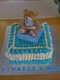 baby shower boy teddy bear cake cake decorating community