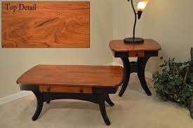 Amish End Tables by Jasons Furniture Roseville Michigan