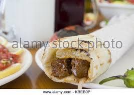 arabic wrap turkish and arabic traditional ramadan shish kebab roll wrap
