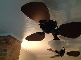 dark wood ceiling fan interior white kitchen ceiling fan on white ceiling connected by