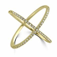 diamond x ring jean jewelers