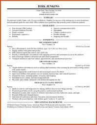 nanny caregiver resume examples sample nanny resume resume sample for a caregiver download